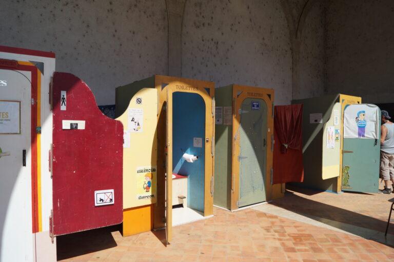 cabines de toilettes sèches